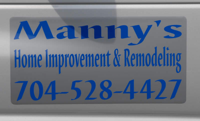 Manny S Home Improvement Amp Remodeling Magnetic Signs
